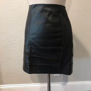 WHBM black skirt